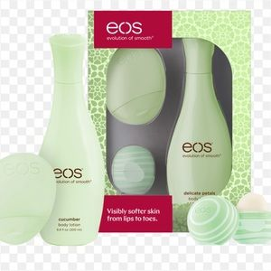 eos 3 piece set Cucumber Melon New